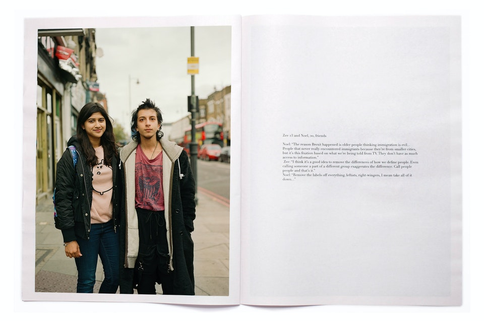 INTO magazine. edition 03, Voices of East London youth. OKINTO3
