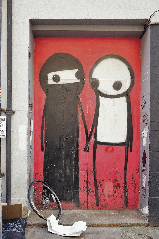 Levi's East London L_people_graffity