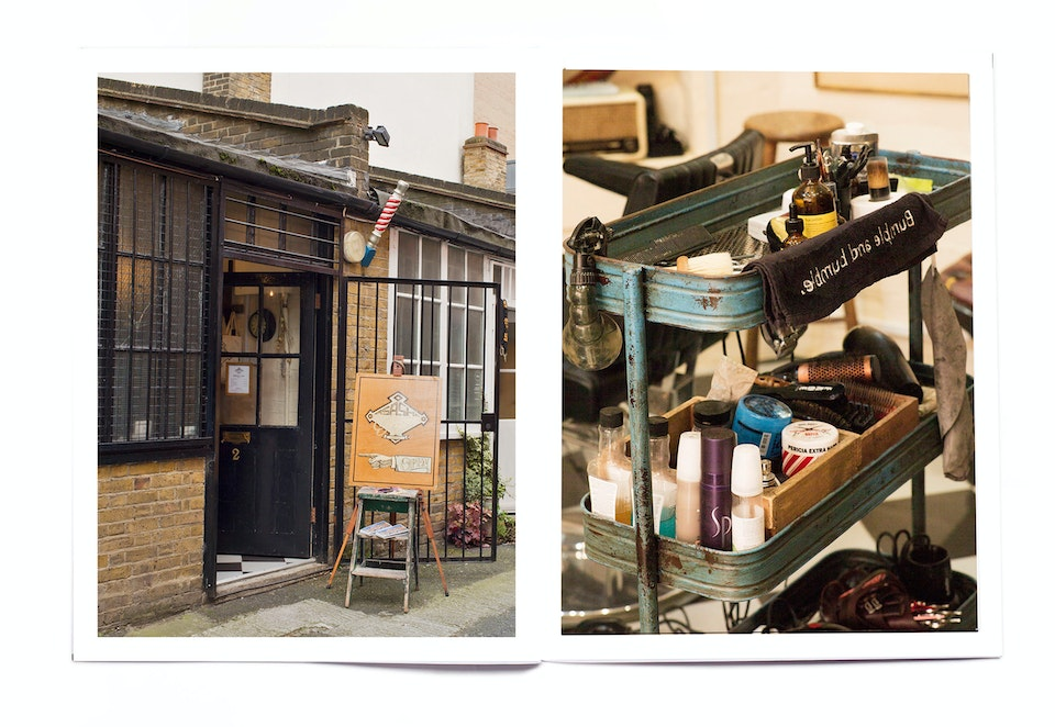 INTO magazine. edition 05, Barbershops. Barber