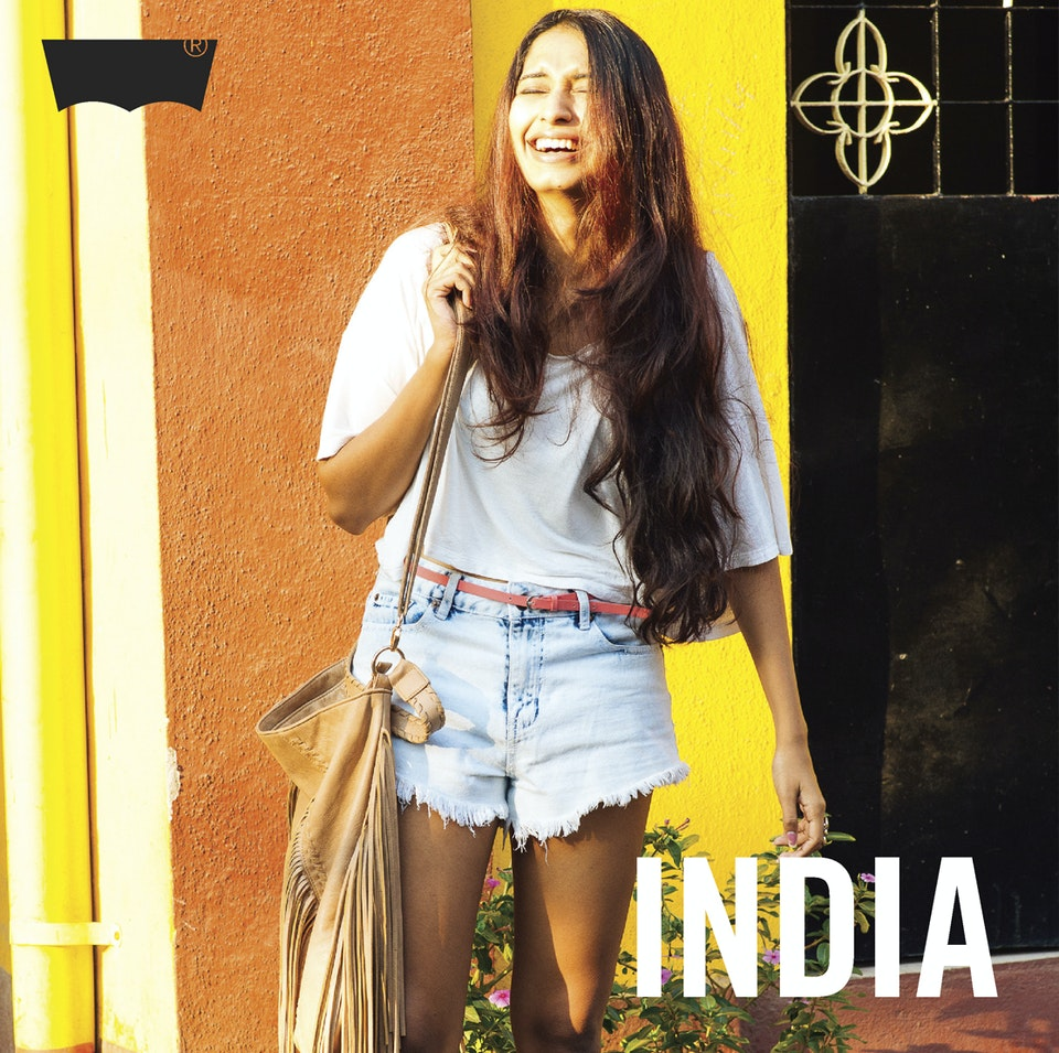 Levi's Portraits of India. Levi's Portraits of India. A series of influential images that give life to people, denim culture and the surrounding environment