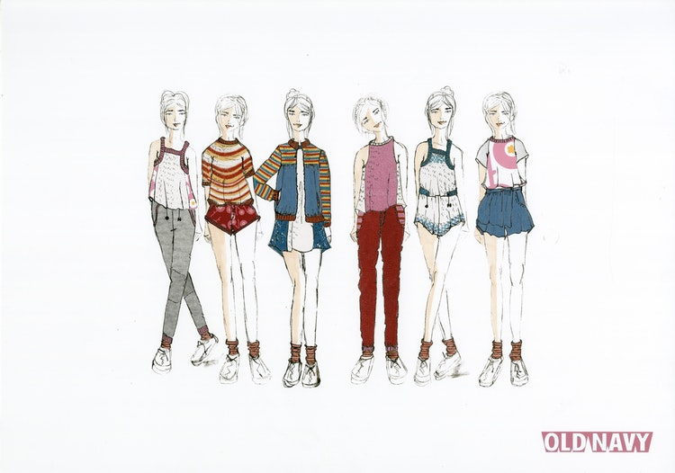 031 - Old Navy - Line Up