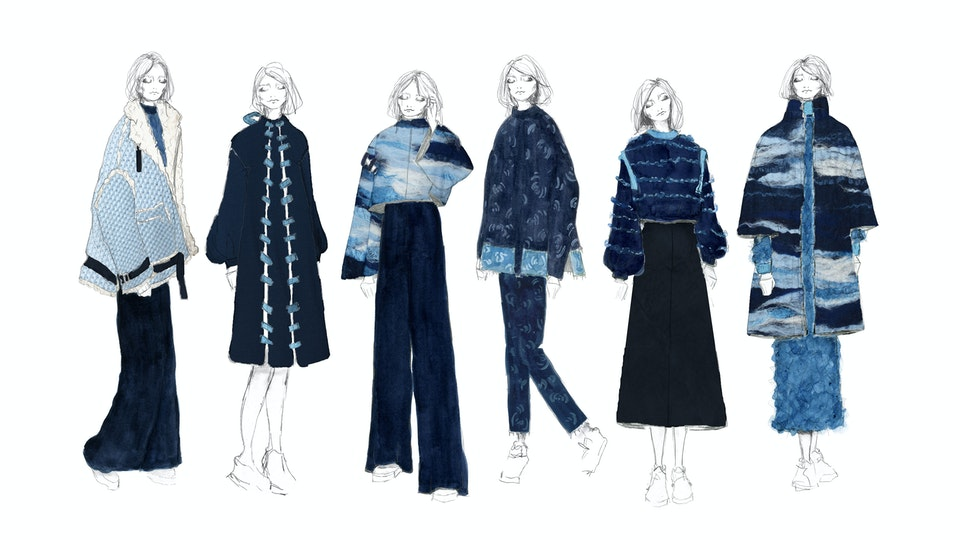 l´heure bleue - graduate collection