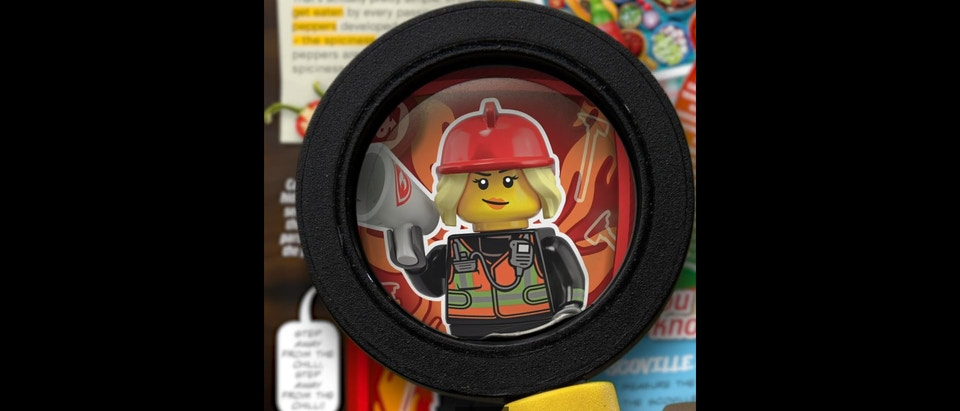 Sainsbury's Lego Cards Instagram Spot