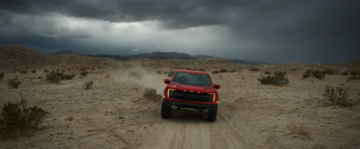 Ford Raptor F150 Launch Film Mix