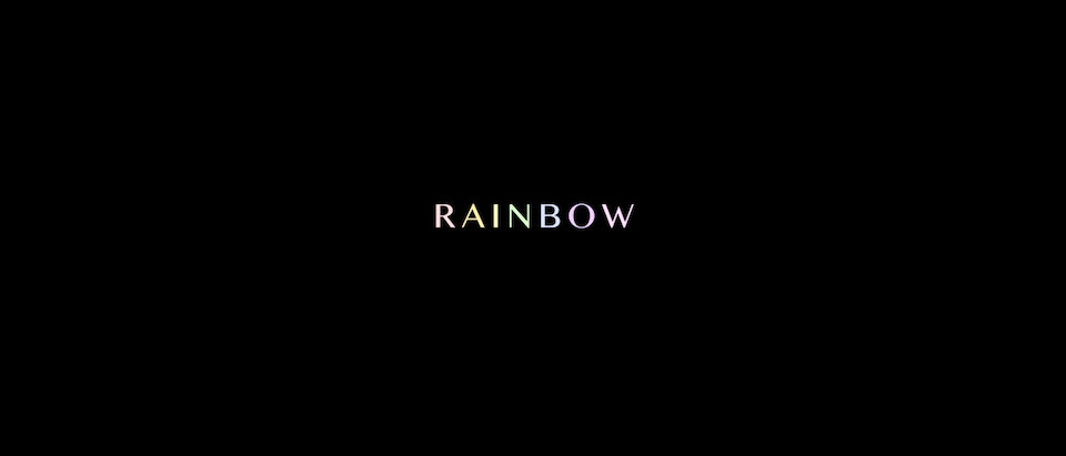 Rainbow NHS Tribute Animation
