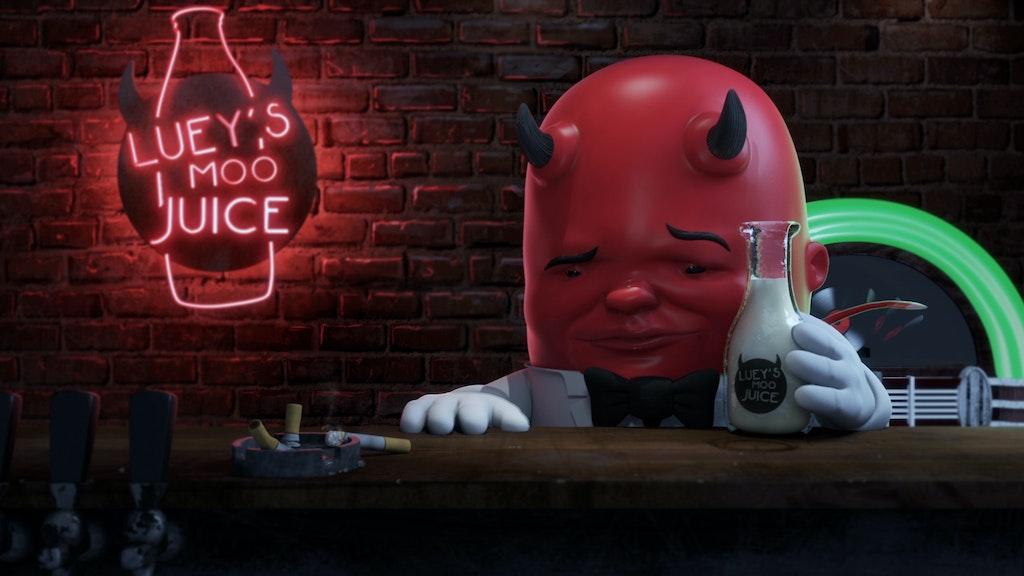 Luey's Moo Juice