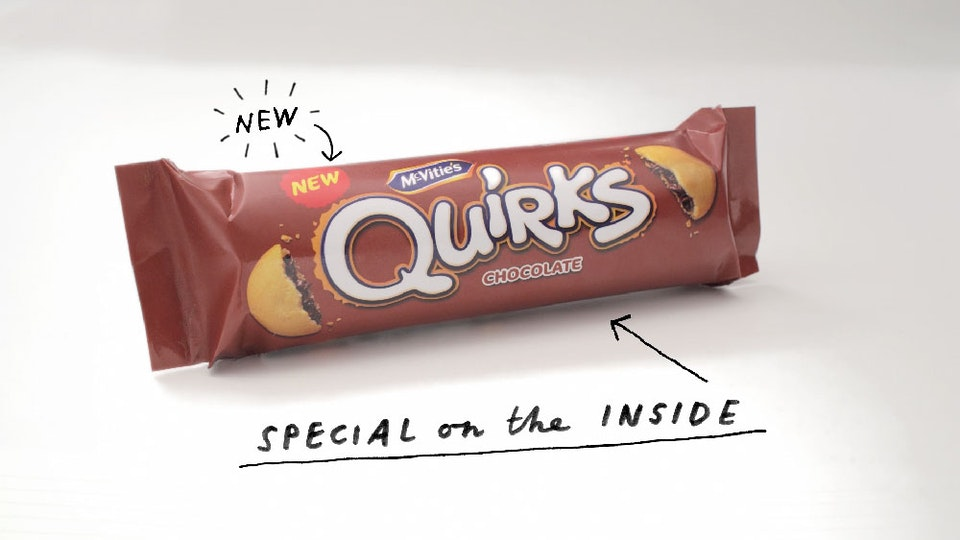 McVitie's Quirks TV commercial