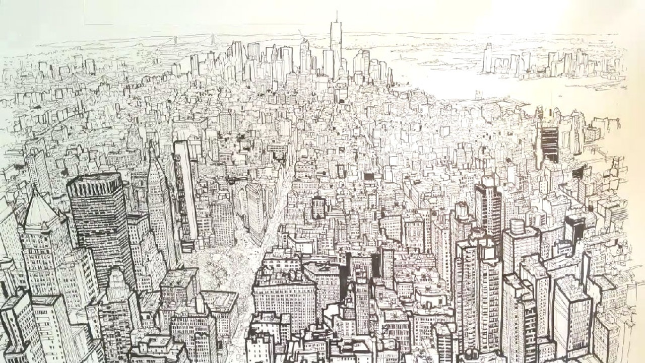 Empire State of Pen by Patrick Vale -