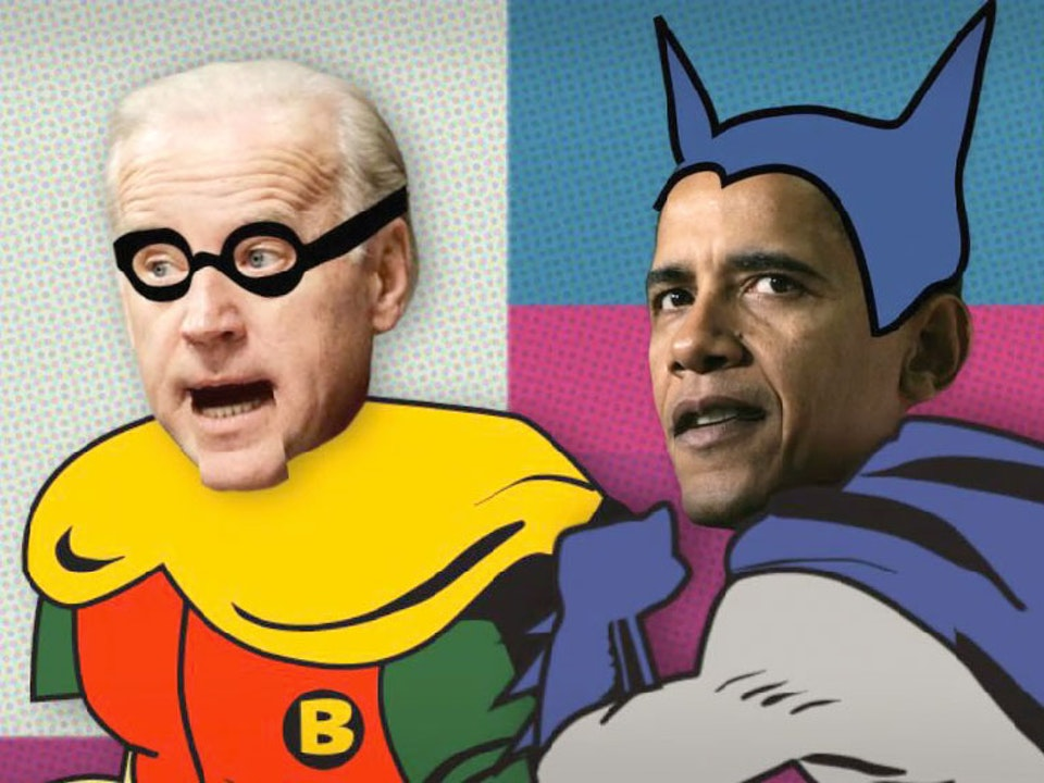 OBAMAN & The Boy Biden – The Onion US Election Special