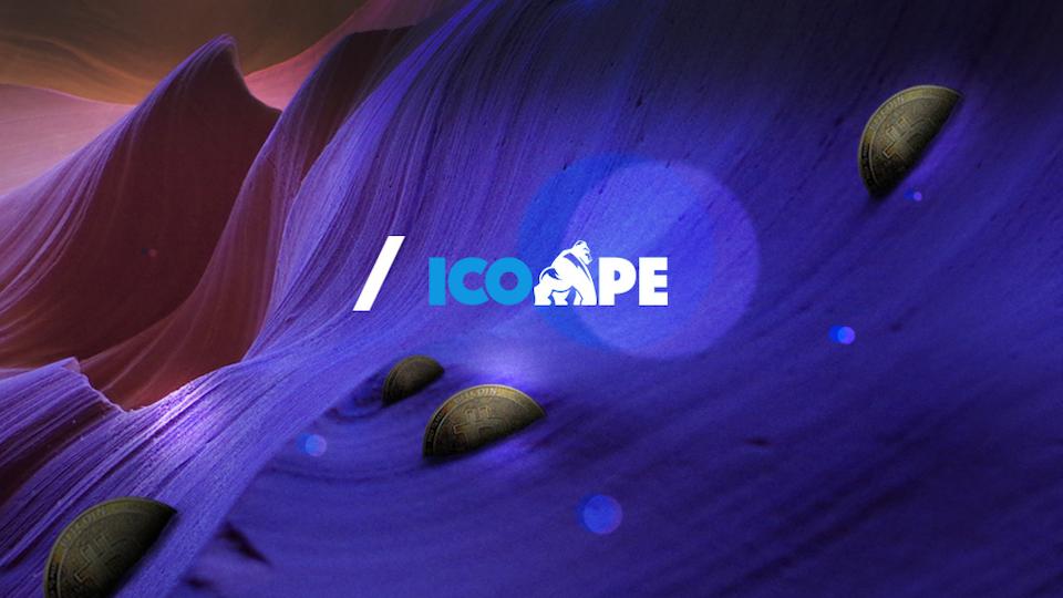 ICO APE - UI & UX Design