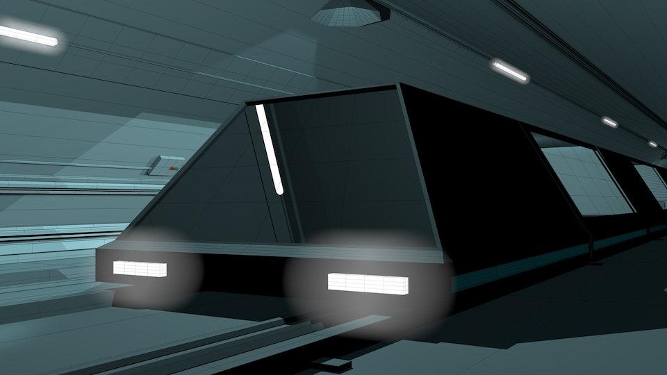 ENZO. PRODUCTION DESIGN. PRE-VIS. - Train Concept.