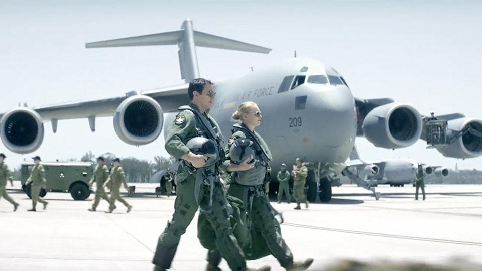 ENZO. PREVIS ARTIST. PRODUCTION DESIGNER. - Air Force.