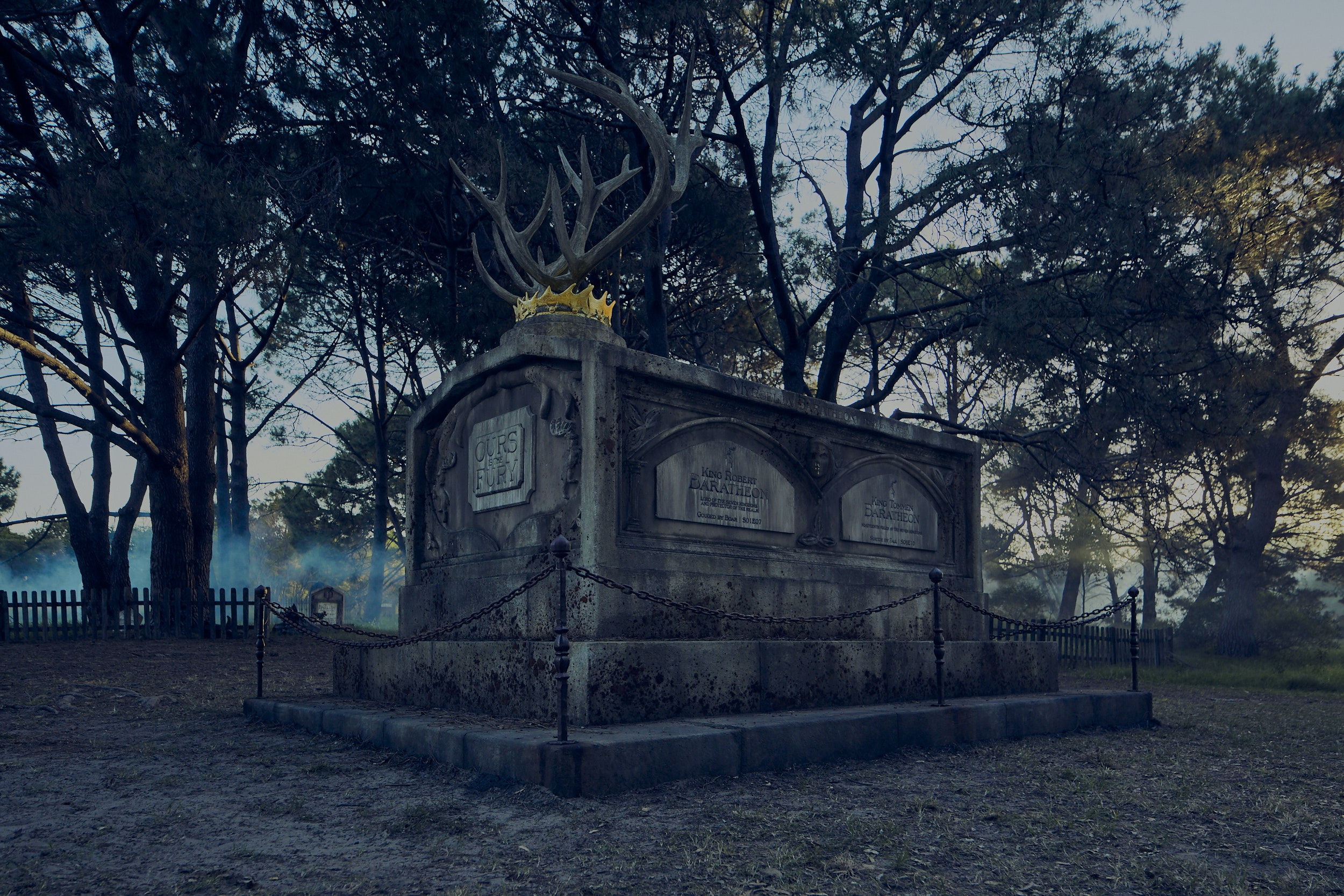 ENZO. PREVIS ARTIST. PRODUCTION DESIGNER. - Baratheon Mausoleum
