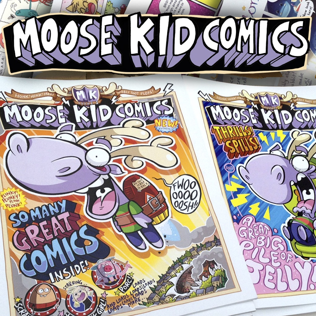 MOOSE KID COMICS