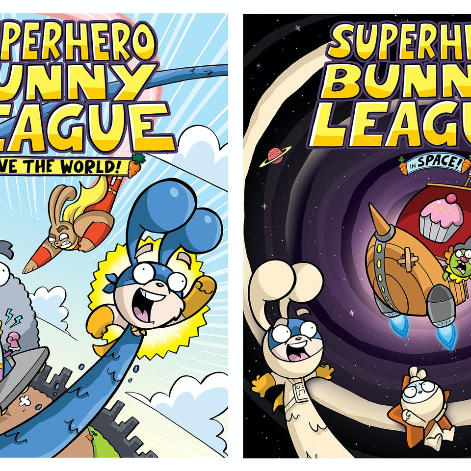 SUPERHERO BUNNY LEAGUE
