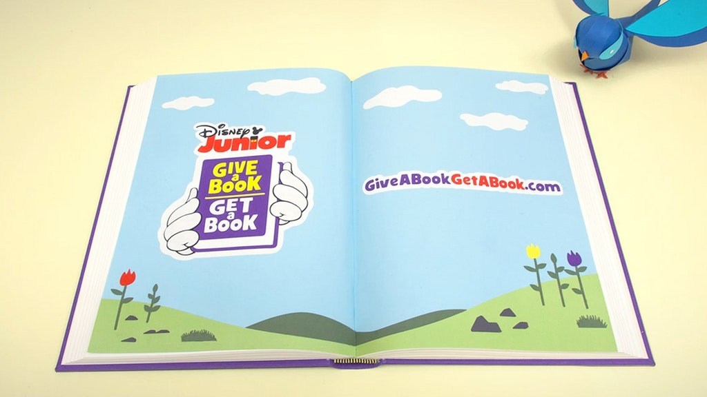 DISNEY JR - GIVE A BOOK, GET A BOOK