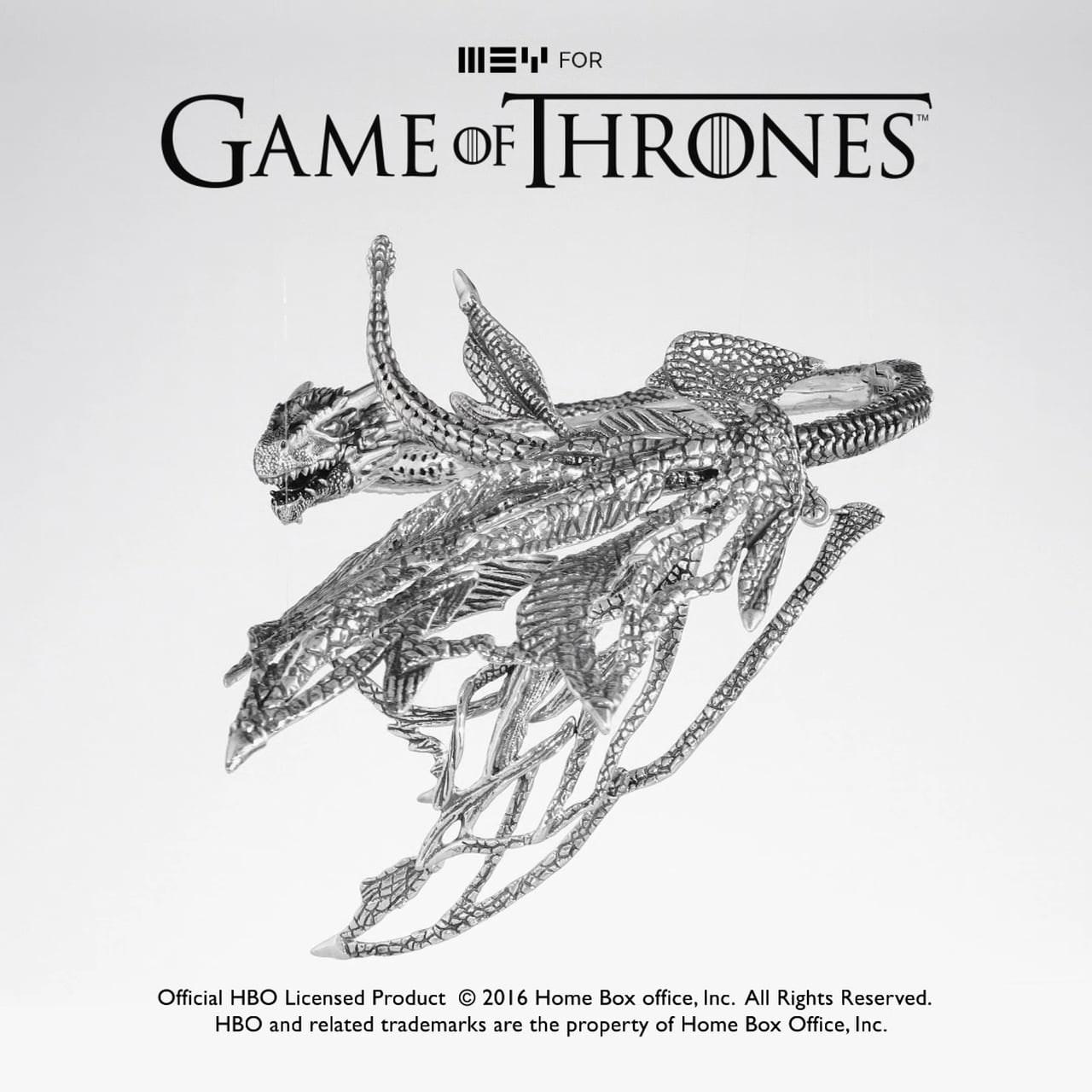 MEYforGOT_Daenerys-Drogon-Neck-Sculpture 2
