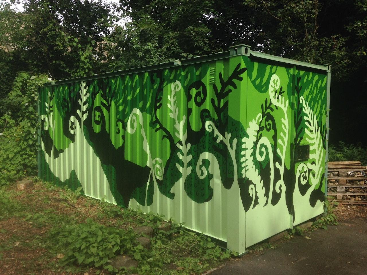 Hodgekin Park Container