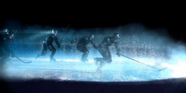 Ice Hockey Title Sequence