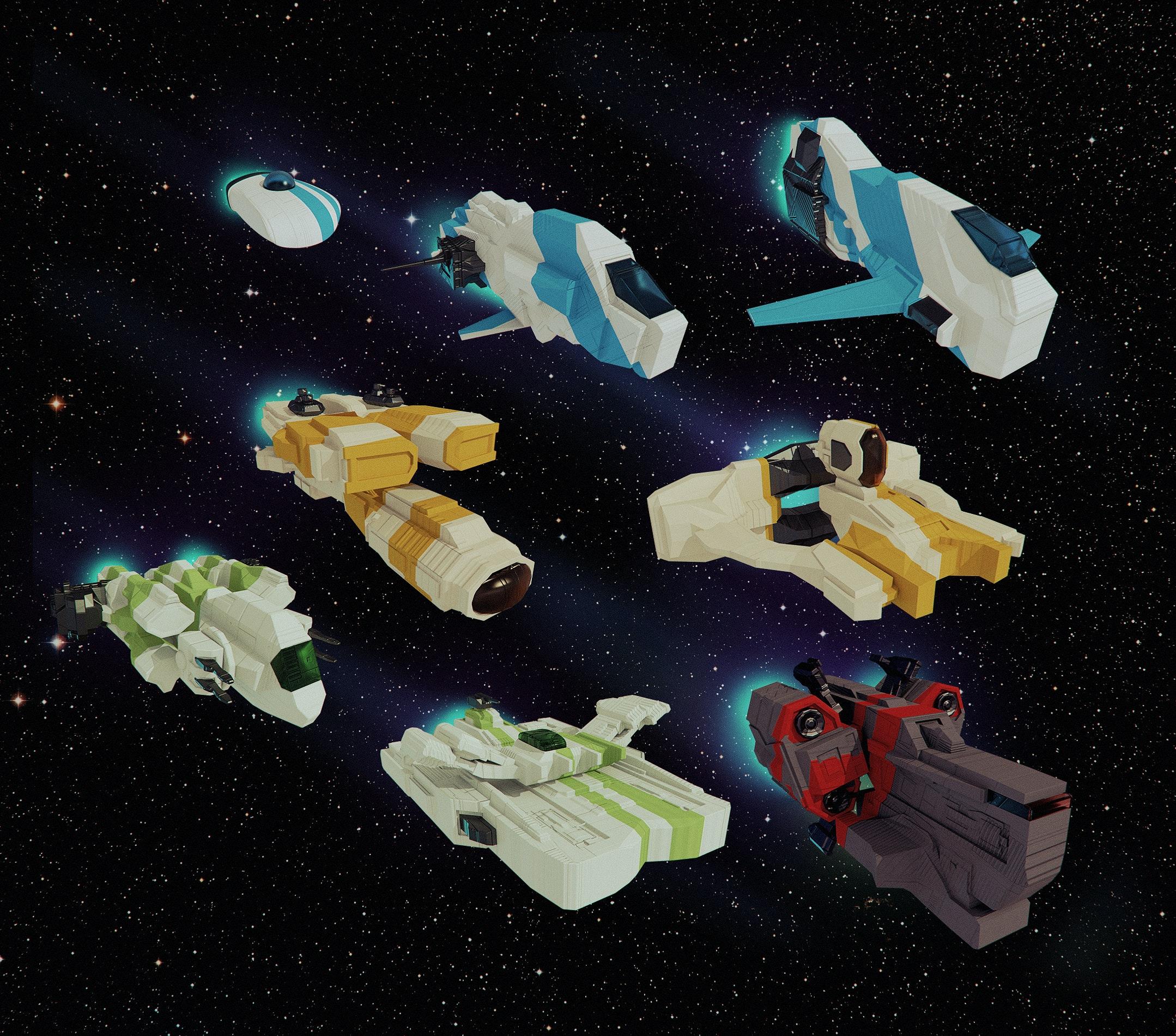 Bora Demirbilek | Portfolio - Spirit_Spaceships