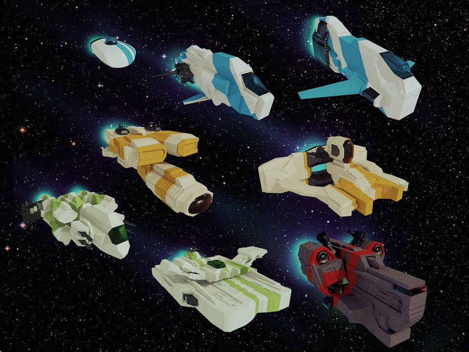 Bora Demirbilek | Portfolio - Spirit Spaceships | 3D