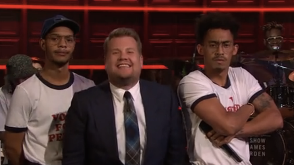 The Late Late Show with James Corden - Rizzle Kicks Performance