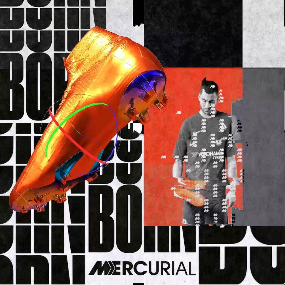 LAB Nike Football, Born Mercurial