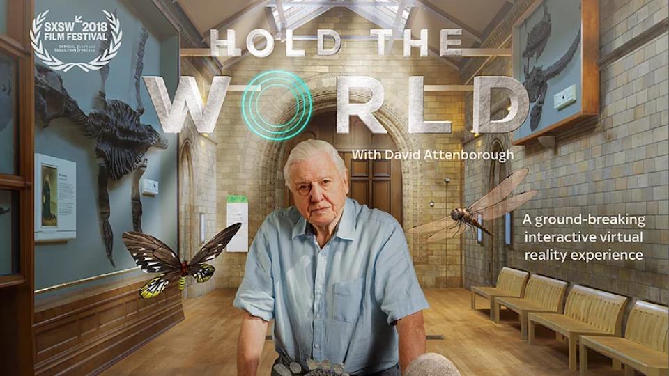 """Hold the world"" David Attenborough"