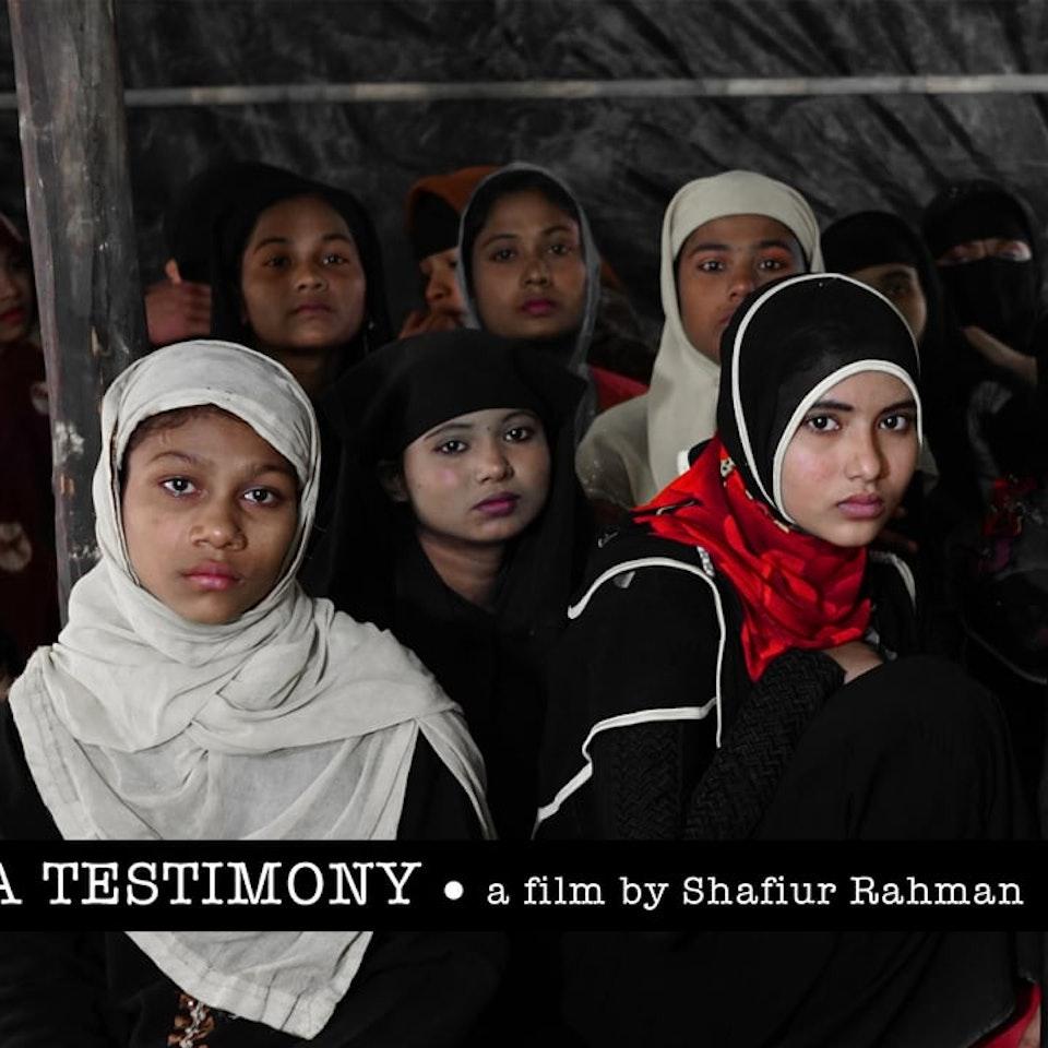 Shafiur Rahman - Rohingya Testimony | no reason to hide our faces