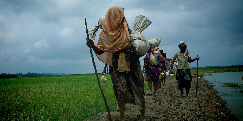 Rohingya exodus continues
