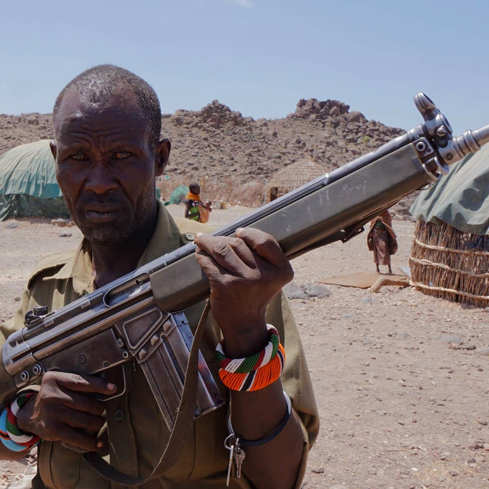 Lake Turkana Wind Power Sarima resident