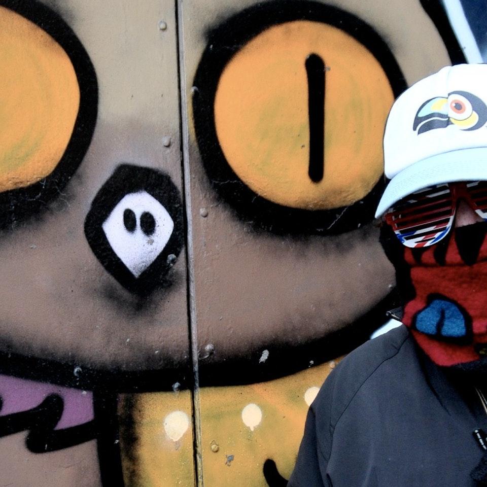 Brick Lane in Art: The other side Dscreet