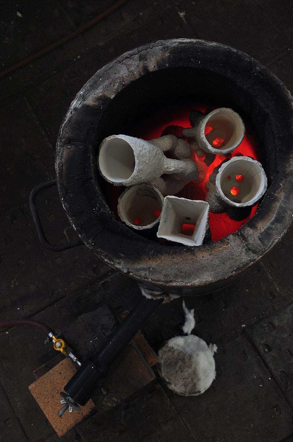 Alchemical Bronze Casting - Organics burnout