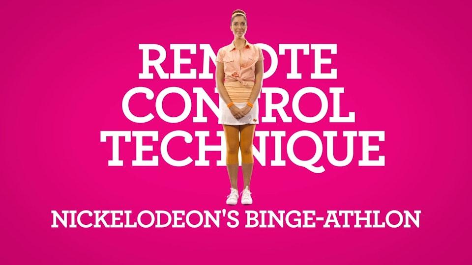 Nickelodeon Binge-Athlon  Training