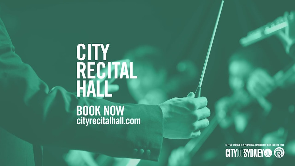City Recital Hall Graphics Package