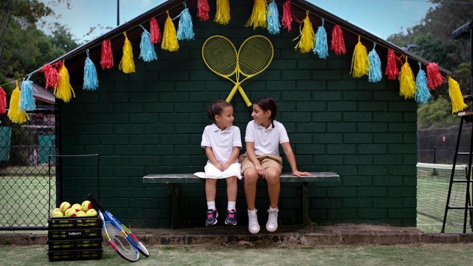 DISNEY / AO: PLAY TENNIS LIKE...