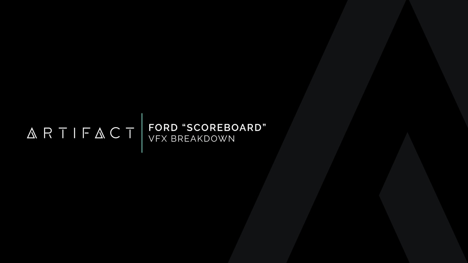 Ford Scoreboard VFX Breakdown