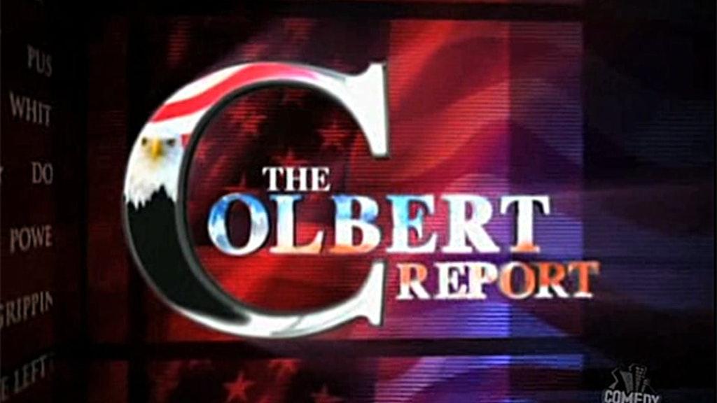 Colbert Report Show Open 2005 - 2009