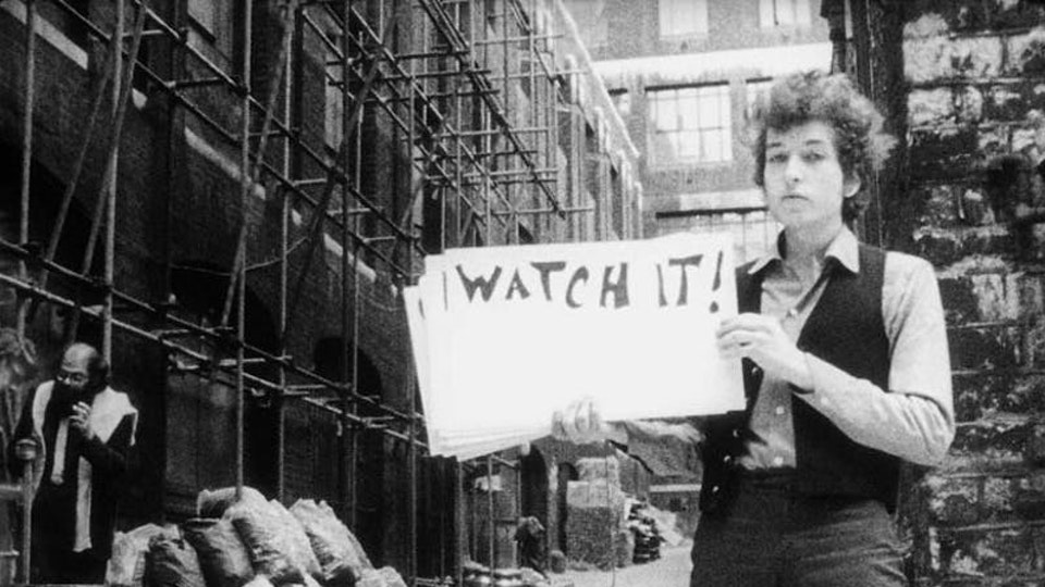 BUG Videos - The Evolution of Music Video - Subterranean Homesick Blues