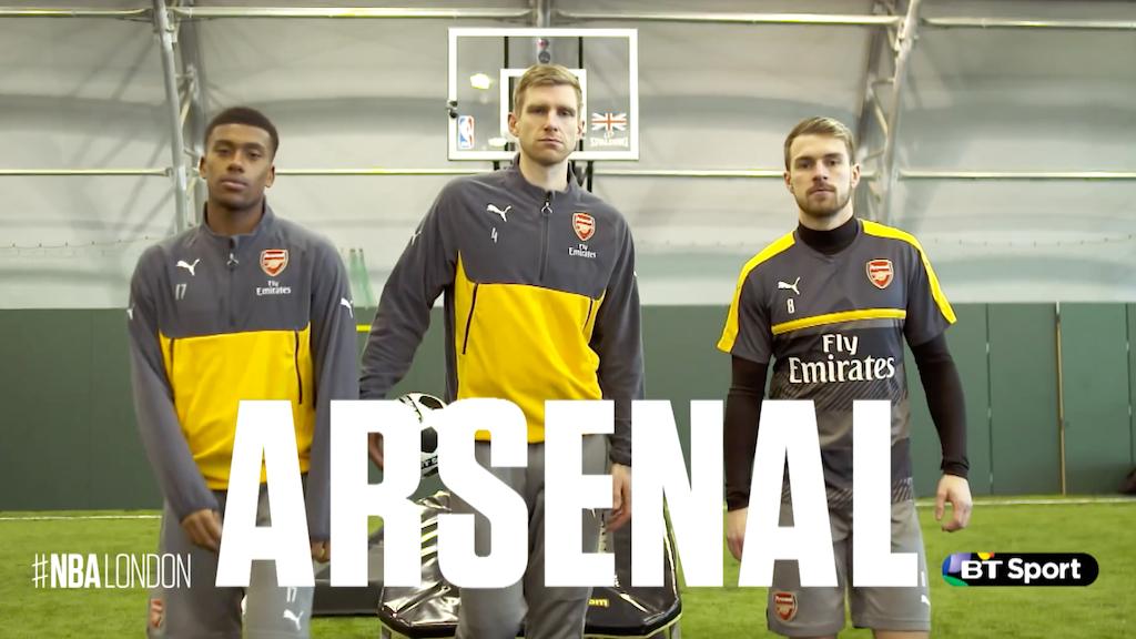 Arsenal x Dunkin Devils