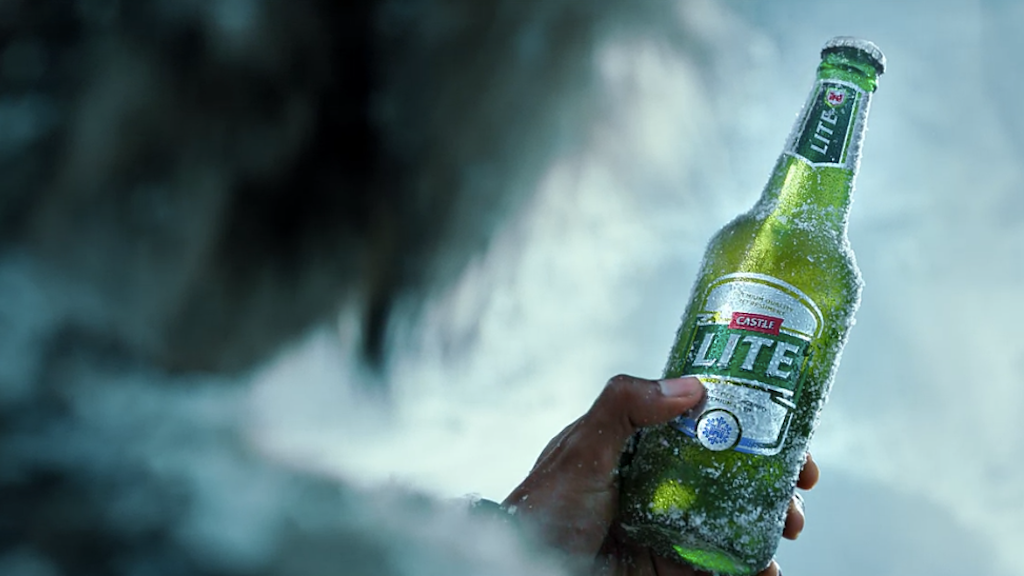 ADRIAN GETS FUNKY WITH CASTLE LITE EXTRA COLD BEER!