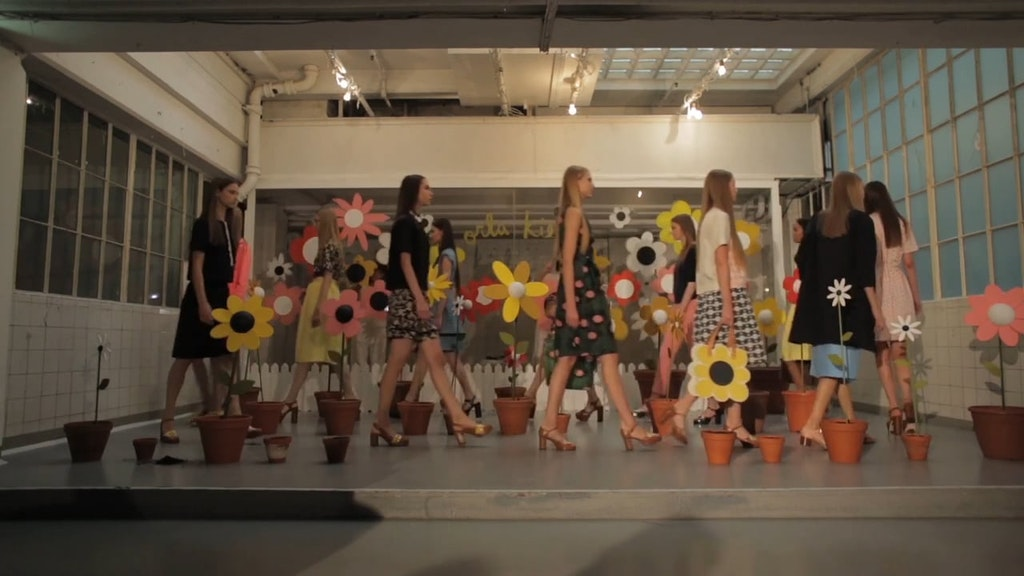Orla Kiely SS15 Presentation Film - Flowers