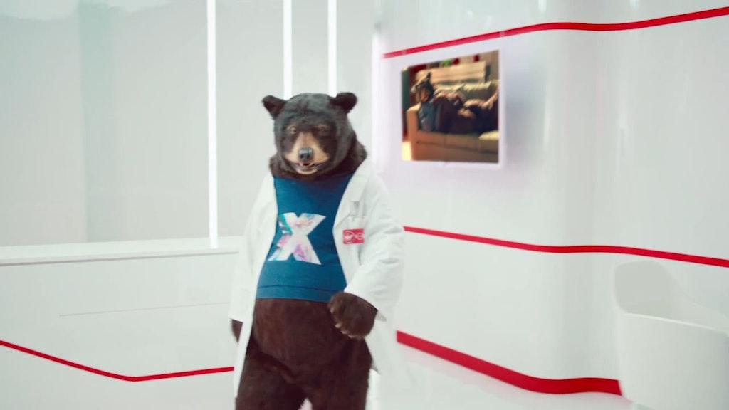 Virgin Media - Sofa Bear