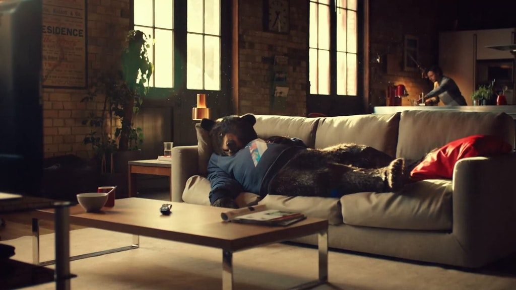 Virgin Media - Sofa Bear