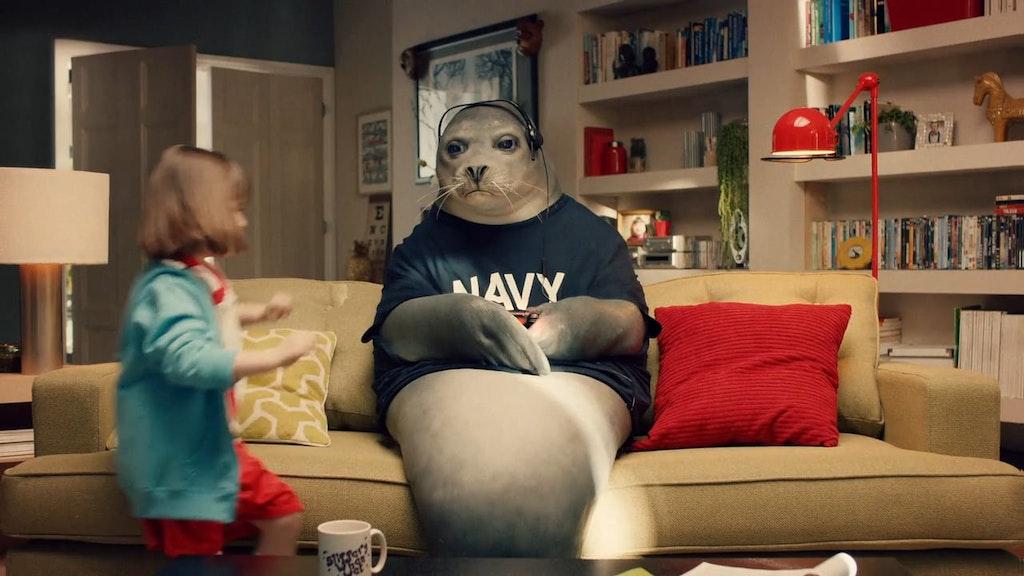 Virgin Media - Navy Seal
