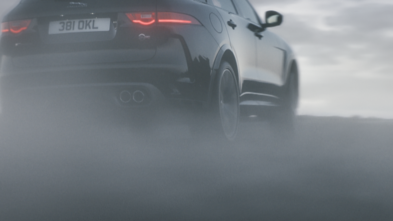 JAGUAR F-PACE SVR // End to End