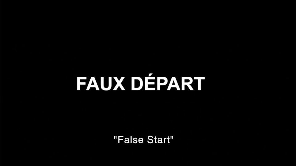 FAUX DÉPART TRAILER