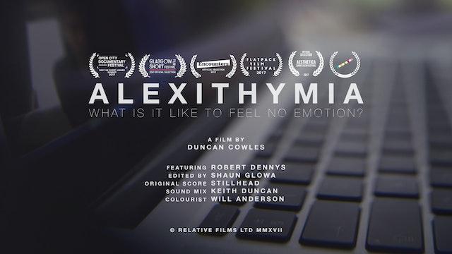 Alexithymia Film Poster Duncan Cowles