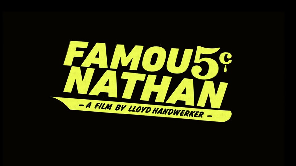 Famous Nathan (Editorial Department) Famous Nathan No 3
