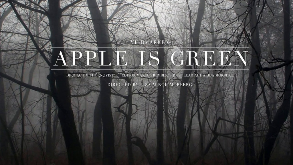 "Vildmarken ""Apple is green"""